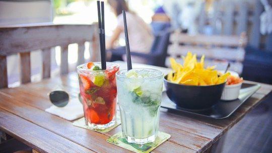 Les cocktails de fruits.